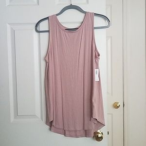 NWT Old Navy Luxe Tank in Rose
